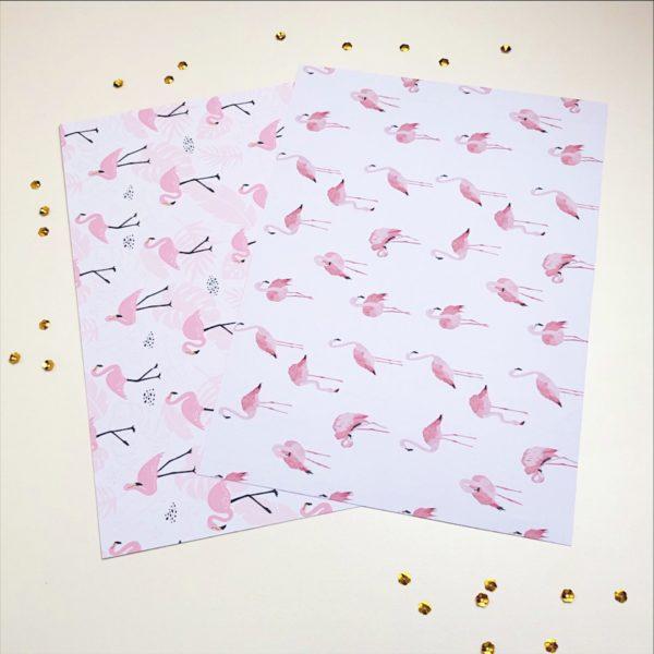 Papel de Scrap | Flamingo