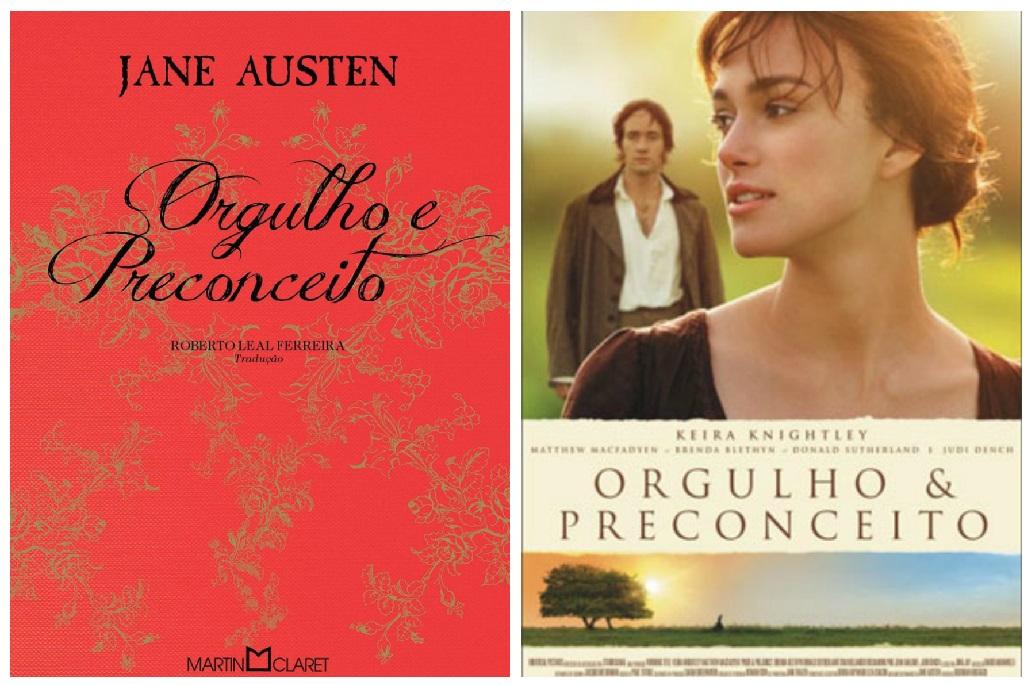 ORGULHO E PRECONCEITO | Livro X Filme