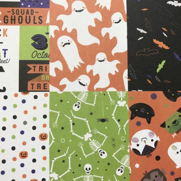 Bloco Happy Halloween