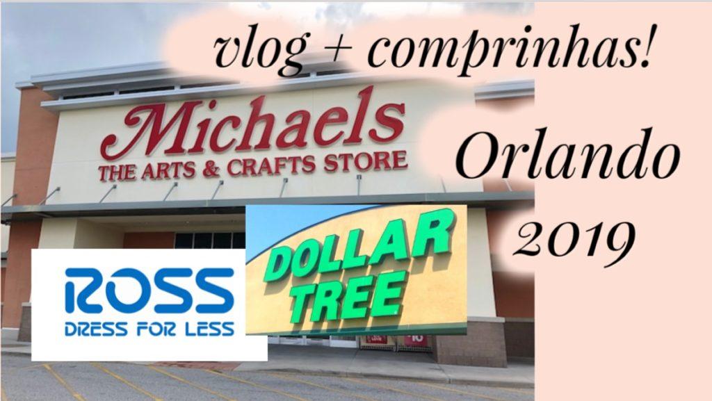 ORLANDO 2019 | Vlog do primeiro dia de compras