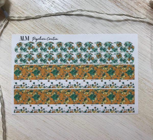 Washi Paper   Trevo de 4 Folhas