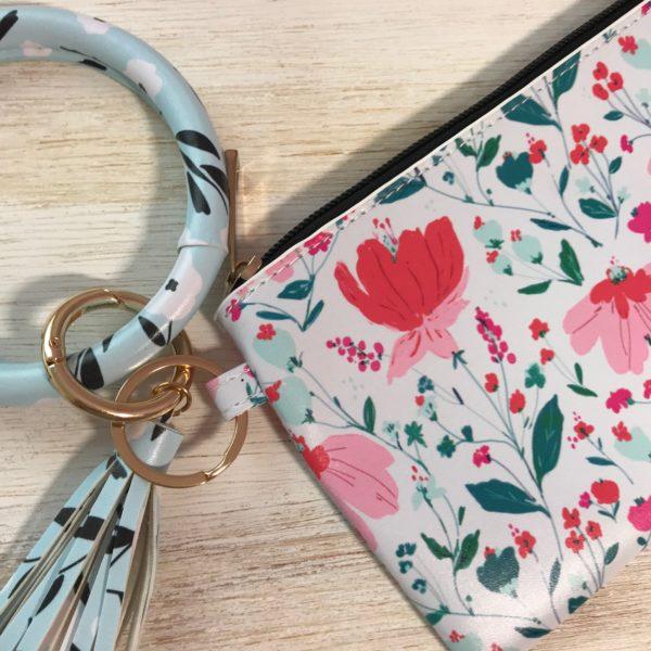 Bolsinha + bracelete chaveiro | Box TPS
