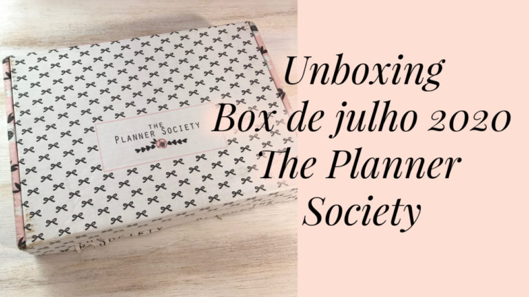 Conhecendo a box The Planner Society